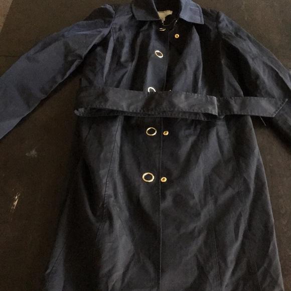 Anne Klein Jackets & Blazers - Anne Klein Black Overcoat w/Belt